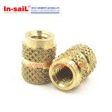 Inulver-Tek à la tête ronde Brass Knurls Insert Nuts