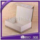 OEM Plain Color Shoe Storage Caixa de papel dobrável rígida