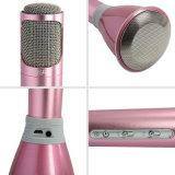 Беспроводной микрофон Bluetooth для караоке для использования вне помещений стороной с караоке и голосовые записи мини-караоке плеер