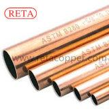Tubo de cobre estándar de ASTM B280