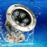 6W het ondergrondse LEIDENE Lichte IP68 OnderwaterLicht van het Zwembad