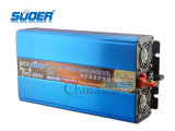 Suoer Solar Power Inverter 2000W DC a AC Power Inverter 12V 220V de onda sinusoidal pura inversor (FPC-2000A)