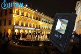 Luz de inundación al aire libre de los reflectores 10W LED, poder más elevado 2 años de garantía
