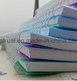 Cahier en cuir d'unité centrale de livre À couverture dure fait sur commande de la meilleure qualité neuf de papeterie