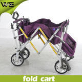 Outdoor Multi-Function Folding Shopping Cart with Wheels