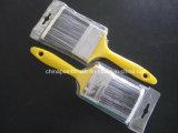 Escova de pintura plástica do punho da escova do animal de estimação