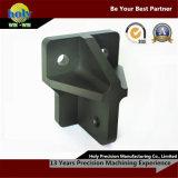 L'alluminio lavorato CNC anodizzato opaco del supporto di arresto dell'urto parte il servizio di macinazione di CNC