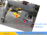 Reator químico de tanque de mistura de aquecimento elétrico de 200 litros