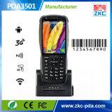 Varredor Handheld Android do código de barras de Zkc PDA3501 3G WiFi NFC RFID PDA