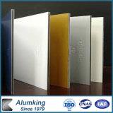 El panel compuesto plástico de aluminio de PVDF con la fuente del precio competitivo/de la fábrica
