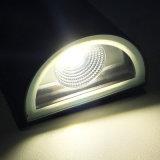 IP65를 가진 빛 LED 외부 벽 램프의 아래 알루미늄 위로