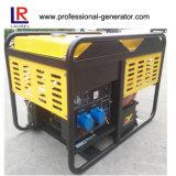 Draagbare 10kw Enige Fase V Tweeling Diesel Generator