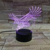 Os dons de acrílico e artesanato decorações LED 3D