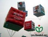 Annonçant le ballon gonflable d'hélium, ballon de cube (K7021)