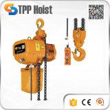 Alzamiento de cadena eléctrico con el alzamiento forjado del gancho de leva 220V (HSY)