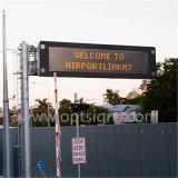 Le trafic de plein air de l'écran à affichage LED Conseil signe modifiable par message électronique