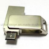 Flash Drive de metal promocional USB OTG