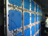 Tela de indicador ao ar livre impermeável do diodo emissor de luz P6 da cor cheia do RGB 3in1 SMD com o gabinete de alumínio fundido