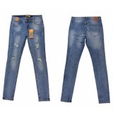 Lady Popular de Niza de la calidad de lavado Whloesale Denim (MY-014)