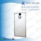 panneau solaire mono de 200W Whc pour le système solaire