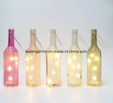 Botella ligera de la luz de las estrellas LED sus botellas sentimentales de los regalos del amigo de la primera respiración