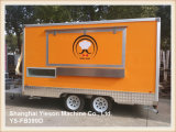 Nuovo di Ys-Fb390d arrivato! Rimorchio mobile dell'alimento del camion dell'alimento