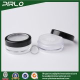 10g rimuovono il POT cosmetico del setaccio con il vaso allentato di plastica della polvere del nero del campione della protezione della finestra con il setaccio