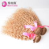 De in het groot Maagdelijke Bundel Indische Jerry Curly Hair Weft van de Blonde van het Menselijke Haar van India