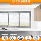 Ventana de desplazamiento de aluminio residencial durable del surtidor chino