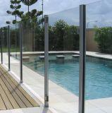 Vidro de alumínio balaustrada para varanda exterior