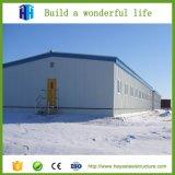 L'ombre d'acier de construction de la conception de structure ferme avicole Entrepôt de délestage