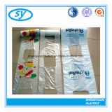 HDPE T - Shirt Bags Thank You Plastic Shopping Bags
