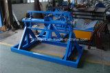 手動張力Decoilerの金属の鍛造材の機械装置最も新しい3トンの