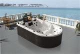 Forme spéciale 4-6 personnes massage baignoire à remous avec TV