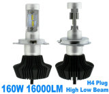 LED Lighting 8000lm 높 낮은 Beam, Auto LED Headlight, LED Bulb