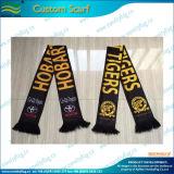 卸し売りギフトによって編まれるジャカードフットボール・チームのサッカーファンのスカーフ(M-NF19F06014)