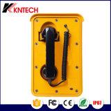 Telefono resistente Knsp-10 Kntech del traforo del telefono di manopola automatica dei telefoni