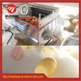 ステンレス鋼の産業ブラシのタイプルート野菜の洗浄の皮の機械装置
