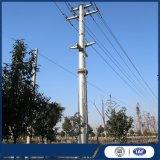 230kv por imersão a quente de aço estrutural de ângulo de distribuição galvanizado pólo eléctrico da Linha de Transmissão do Braço Transversal Torre Tubular Galvanizado