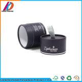Kleiner schwarzer Pappgefäß-Zylinder-verpackenkasten für Kerze