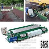 Straßenbetoniermaschine-Aufbau-Maschinen-Gerät für synthetischen athletischen laufenden Rennbahn-Sport-Bereich-/Laufbahn-Oberflächenbodenbelag der Spur-Playground/EPDM Plastikgummi