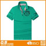 인력 로고 폴로 t-셔츠