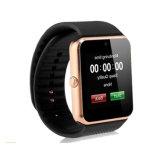 人間の特徴をもつSmartphonesおよびIosの電話ブレスレットSmartwatchのための2g SIMのカードスロットの健康の腕時計が付いているGt08 Bluetoothのスマートな腕時計