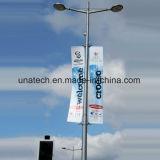 旗の通りのポーランド人の節約器のホールダーブラケットの屋外の広告のハンガーのハードウェア
