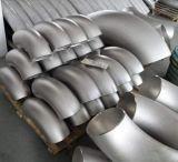 gomito dell'acciaio inossidabile 304 316L con il raggio lungo 90deg