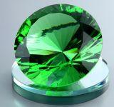 Kristalldiamanten, elegante dekorative Glaszubehör