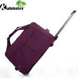 Il sacchetto di corsa del sacchetto di Duffle del Manufactory della Cina con il pattino della serratura spinge i bagagli del carrello