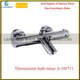 Misturador termostático de bronze do Faucet de água do banheiro da banheira