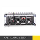 8CH 500W*2 angeschaltener Audio-DJ Mischer mit Verstärker