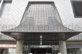 カーテン・ウォールの装飾的な金属の網